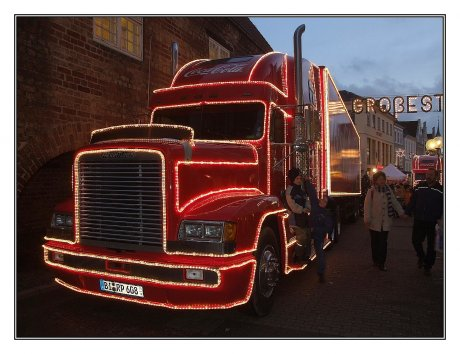 Coca-Cola-Weihnachtstruck