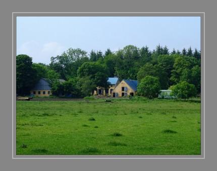 Der letzte Bauernhof im Westen der Stadt Flensburg
