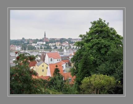 Von der Duburger Aussichtsplattform.