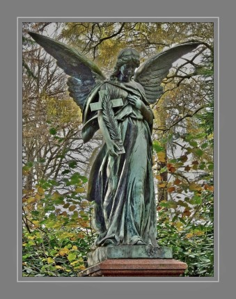 Auf dem Ohlsdorfer Friedhof